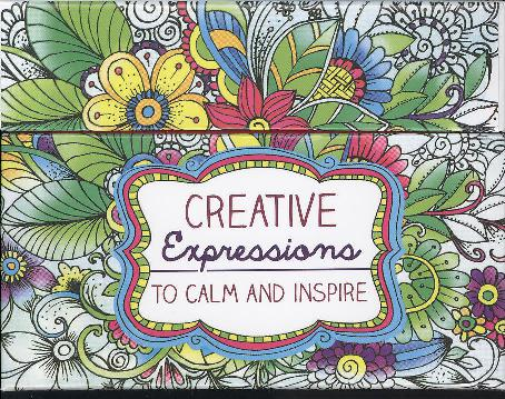 COLOURING CARDS: CREATIVE EXPRESSIONS