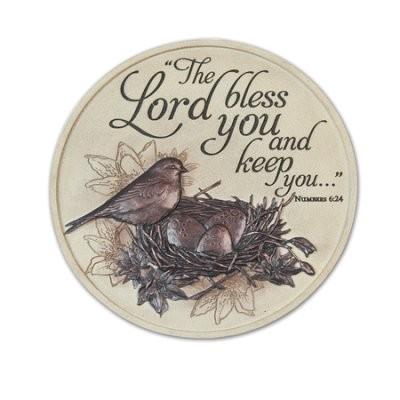 GARDEN STONE: BIRD: THE LORD BLESS YOU