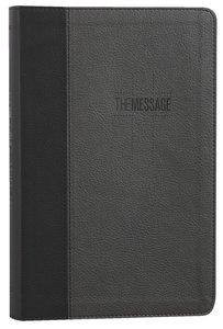 MESSAGE DELUXE GIFT BIBLE:BLACK SLATE