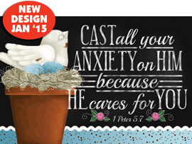 POSTER: CAST ALL YOUR ANXIETY ON HIM