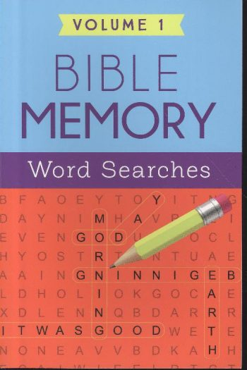 BIBLE MEMORY WORD SEARCHES VOL 1