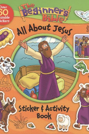 BEGINNER'S BIBLE:ALL ABOUT JESUS STICKER