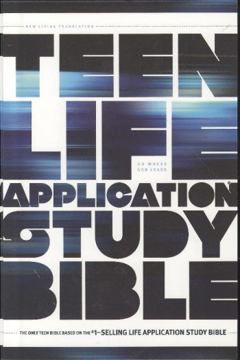 NLT 2 TEEN LIFE APP STUDY  BIBLE H/COVER