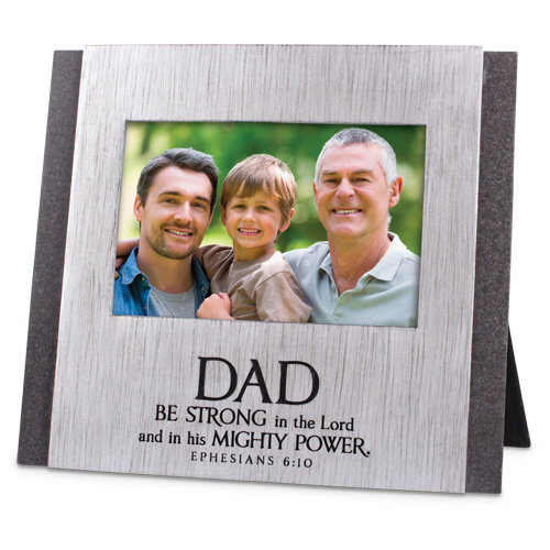 FRAME CAST STONE:DAD-STRONG