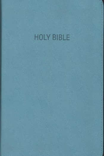 FOUNDATION STUDY BIBLE KJV TURQUOISE