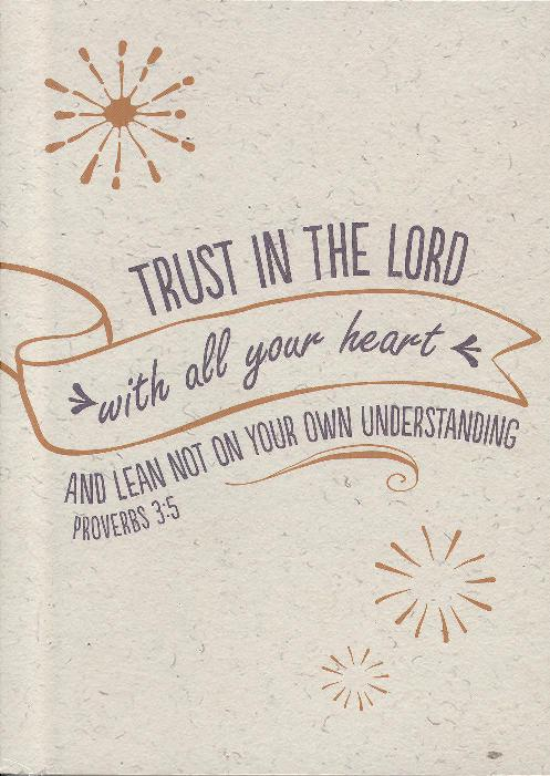 PADFOLIO:TRUST IN THE LORD-0