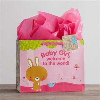 GIFT BAG: BABY GIRL LGE