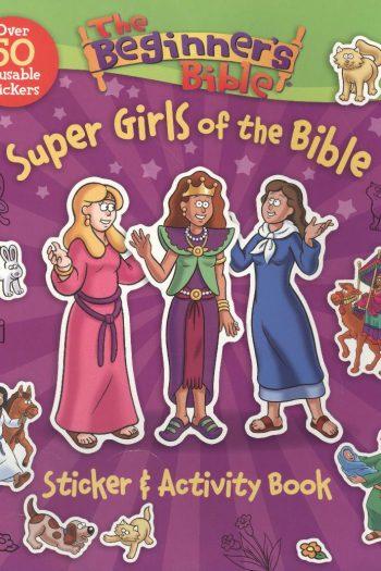 BEGINNERS BIBLE:SUPER GIRLS ACTIVITY BK