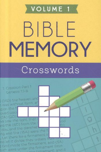 BIBLE MEMORY CROSSWORDS:VOL 1