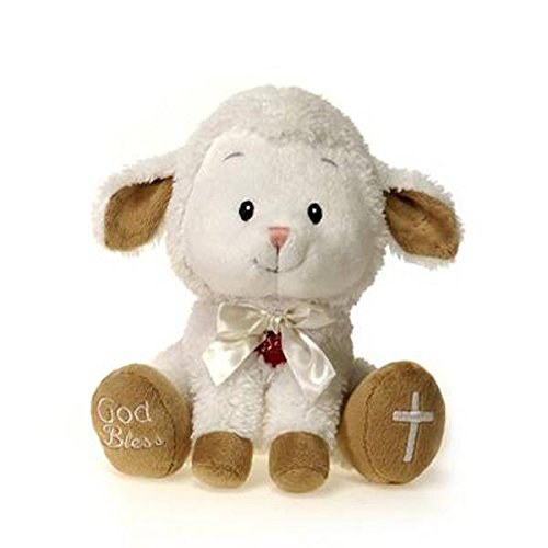 PLUSH MUSICAL LAMB:JESUS LOVES ME