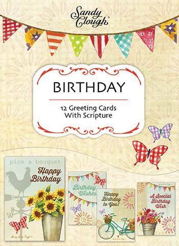BOXED CARD: BIRTHDAY