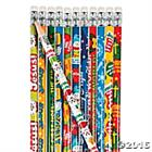 PENCILS : ASSORTED DESIGNS BOX 100