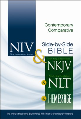 NIV,NKJV,NLT,THE MESSAGE PARALLEL BIBLE