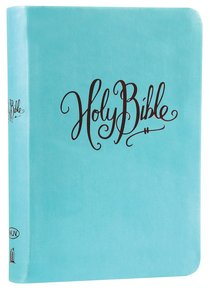 NKJV COMPACT L/P REF TURQUOISE BIBLE