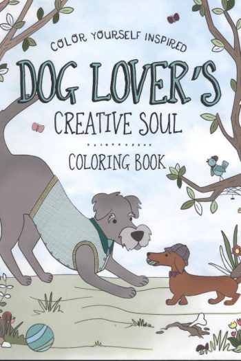 ACB:DOG LOVER'S CREATIVE SOUL COLOURING