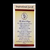 INSPIRATIONAL SCROLL:LORD'S PRAYER