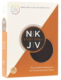 NKJ STUDY FULL-COLOUR EDITION BROWN