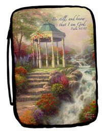 BIBLE COVER: KINKADE XLGE  QUIET EVENING