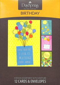 BOXED CARD: BIRTHDAY
