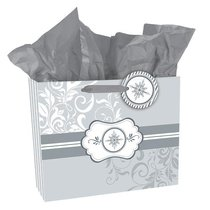 GIFT BAG: LOVE EACH OTHER SILVER