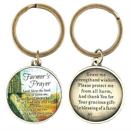 KEYRING: FARMER'S PRAYER