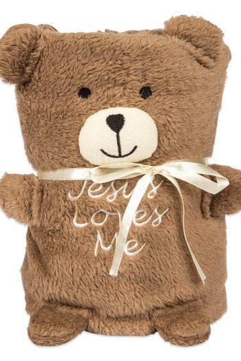 BABY BLANKIE: TEDDY BEAR