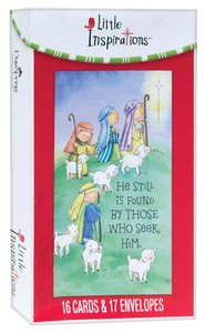 BOXED CARDS:HE IS STILL FOUND BY THOSE