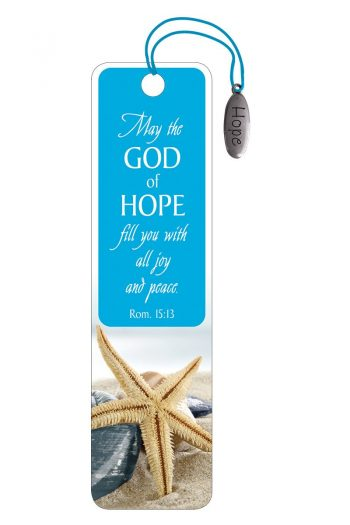 BOOKMARK, CHARM: MAY THE GOD OF HOPE