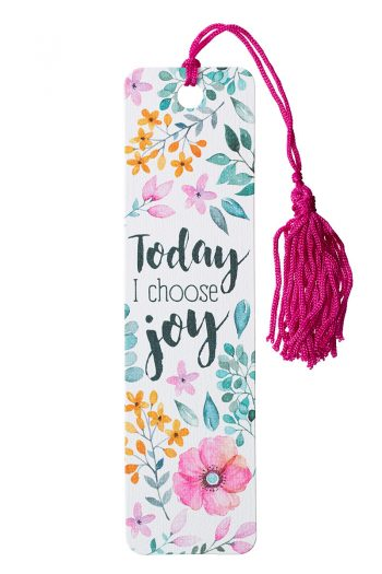 BOOKMARK, TASSEL: TODAY I CHOOSE JOY