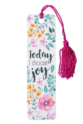 BOOKMARK, TASSEL: TODAY I CHOOSE JOY