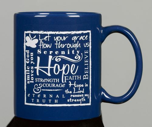 MUG:HOPE BLUE