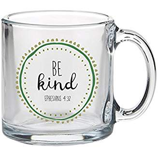 GLASS MUG: BE KIND