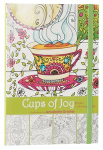 COLOURING BOOK:CUPS OF JOY POCKET BOOK