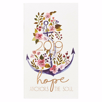 2019 DAILY PLANNER HOPE ANCHORS