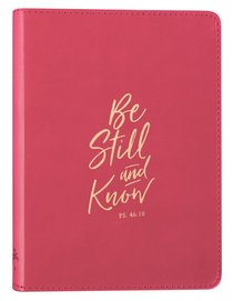 JOURNAL: BE STILL PINK