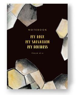 NOTEBOOK: MY ROCK, MY SALVATION