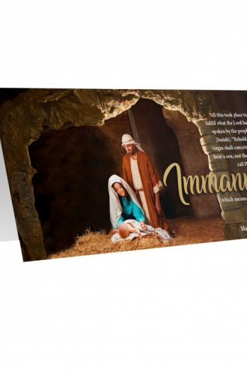 CHRISTMAS CARD PACK 10: IMMANUEL
