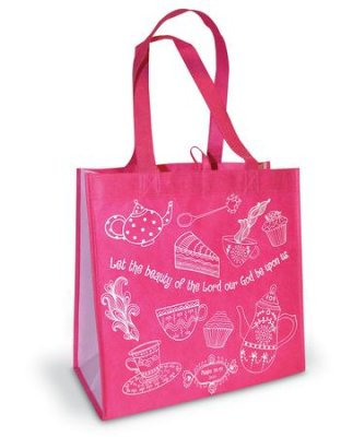 TOTE BAG:LET THE BEAUTY OF THE LORD