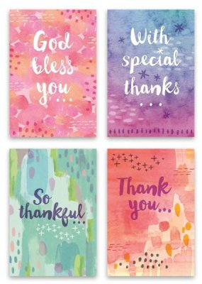 BOXED CARDS: THANK YOU