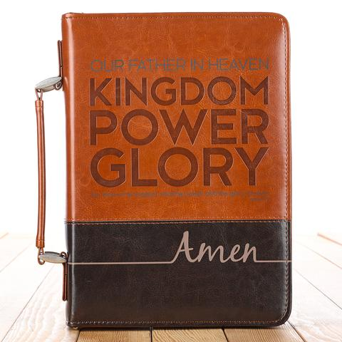 BIBLE COVER: LORD'S PRAYER LARGE