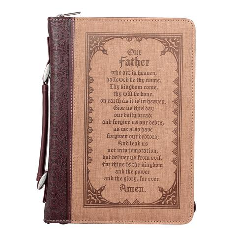BIBLE COVER: LORD'S PRAYER MEDIUM