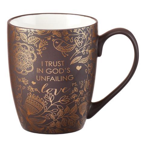 MUG: PS 13:5 – GOD'S UNFAILING LOVE