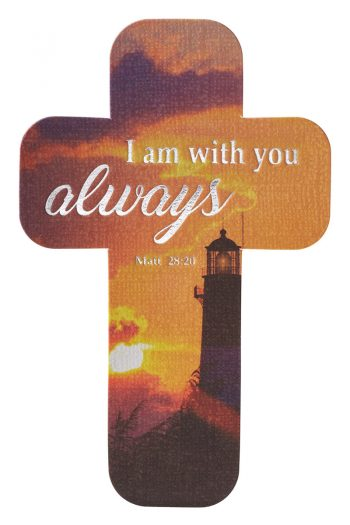 CROSS BOOKMARK: I AM WITH YOU ALWAYS