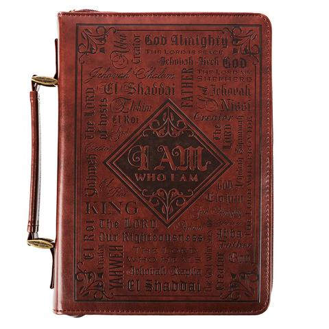 BIBLE COVER: NAMES OF GOD : BROWN MED