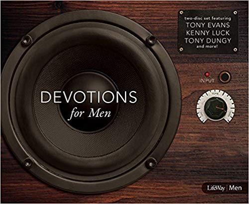 AUDIO CD: DEVOTIONS FOR MEN