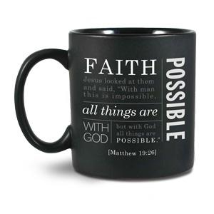 CERAMIC MUG:FAITH