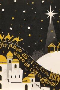 CHRISTMAS CARD (BUDGET PACK E)