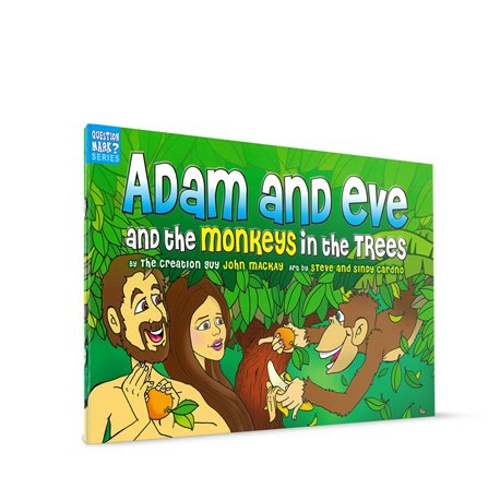 ADAM & EVE & THE MONKEY IN THE TREES
