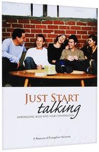 JUST START TALKING WORK BOOK