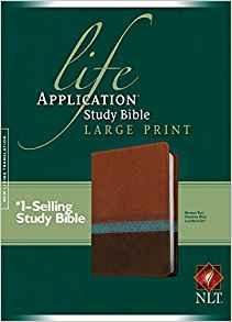 NLT LGE PRINT LIFE APP STUDY BIBLE